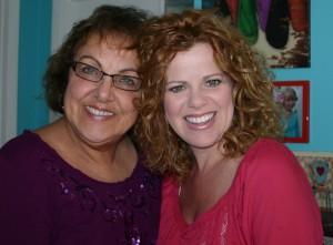 My aunt and I, somewhere around 2012